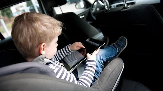 Как возить ребенка в машине
